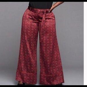 Lane Bryant glamour x wide leg pants